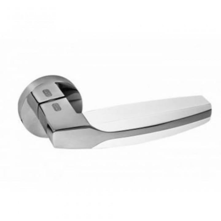 PALIDORE Ручка 502 NСW/РС (белый/хром)