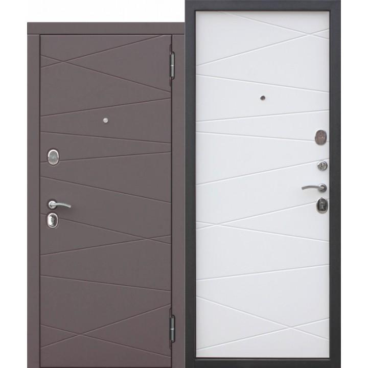 Входная металлическая дверь МДФ/МДФ 9,5 Верона