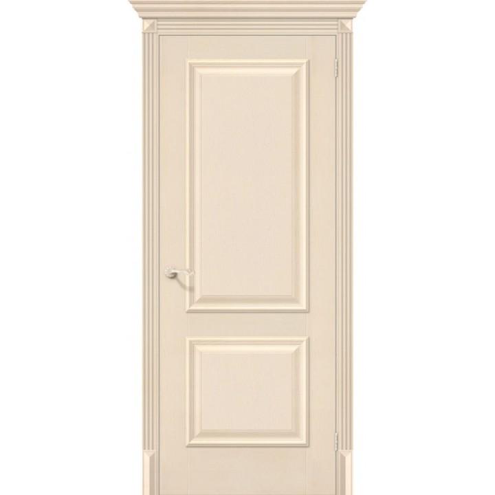 Межкомнатная дверь экошпон  Классико-12 Ivory в Белгороде