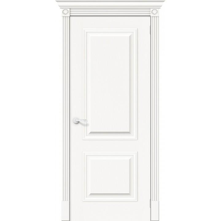 Межкомнатная шпонированная дверь Вуд Классик-12 Whitey в Белгороде
