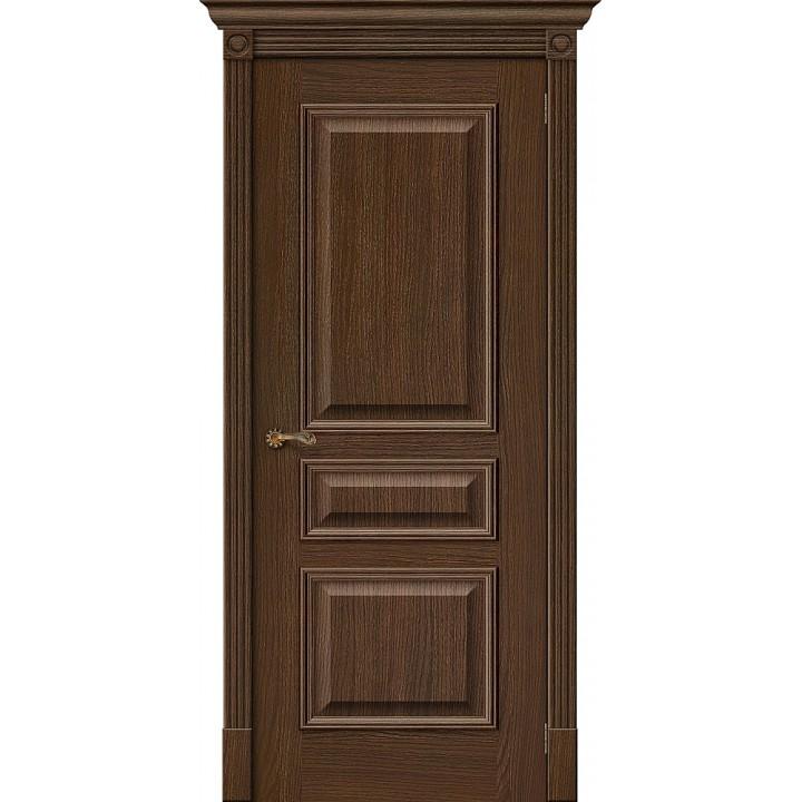 Межкомнатная шпонированная дверь  Вуд Классик-14 Golden Oak в Белгороде
