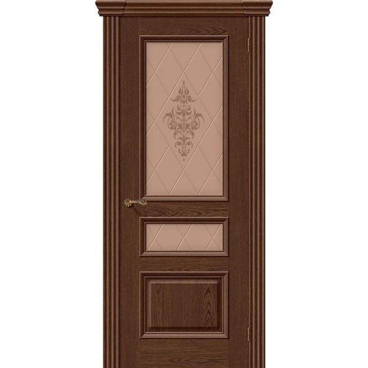 Межкомнатная шпонированная дверь  Вена Т-32 (Виски) в Белгороде