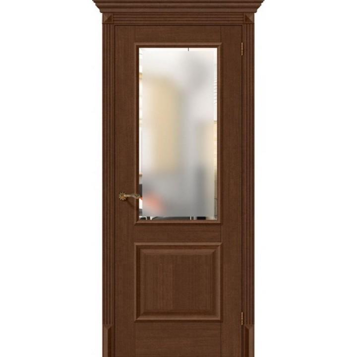Межкомнатная дверь экошпон  Классико-13 Brown Oak в Белгороде
