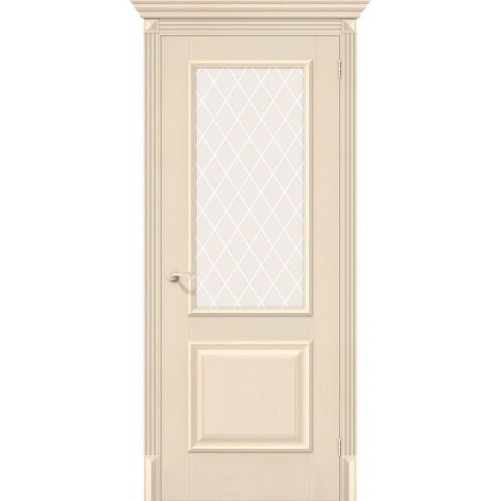 Межкомнатная дверь экошпон  Классико-13 Ivory в Белгороде