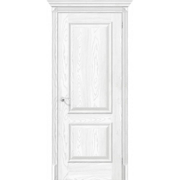 Межкомнатная дверь экошпон  Классико-12 Silver Ash в Белгороде