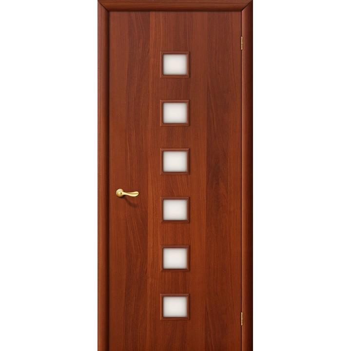 Дверь межкомнатная ламинированная  1С Л-11 (ИталОрех) в Белгороде