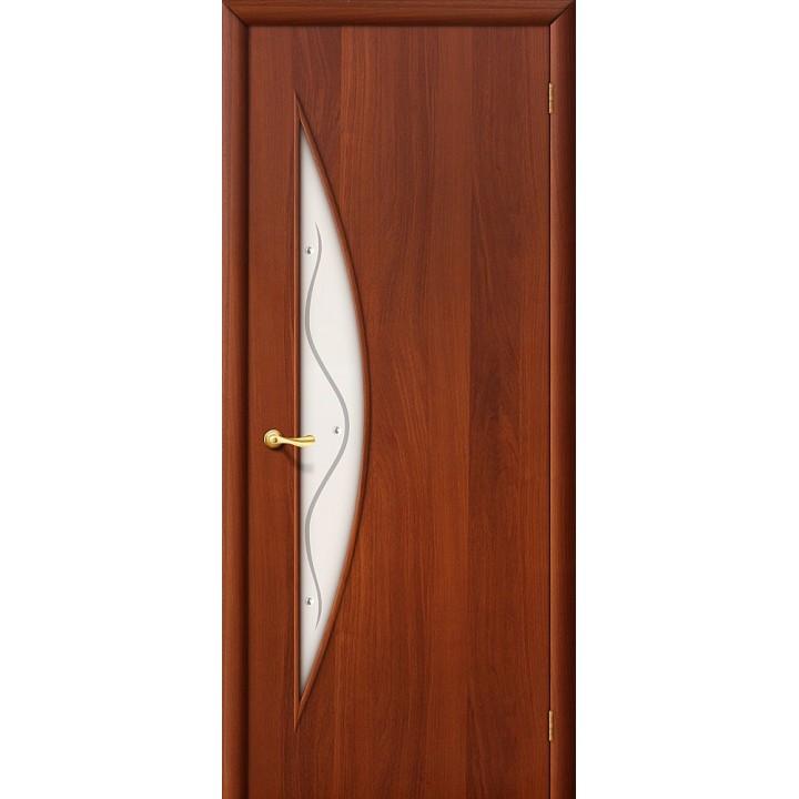 Дверь межкомнатная ламинированная  5Ф Л-11 (ИталОрех) в Белгороде