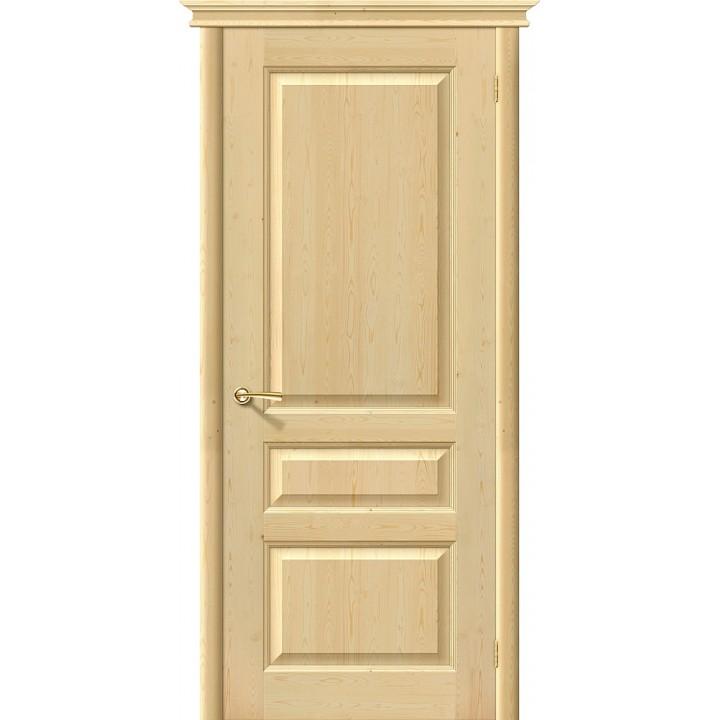 Дверь межкомнатная из массива сосны М5 без отделки глухая в Белгороде