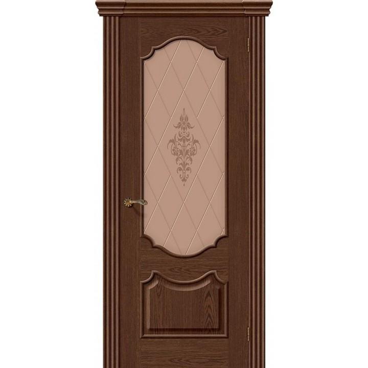 Межкомнатная шпонированная дверь Париж Т-32 (Виски) в Белгороде