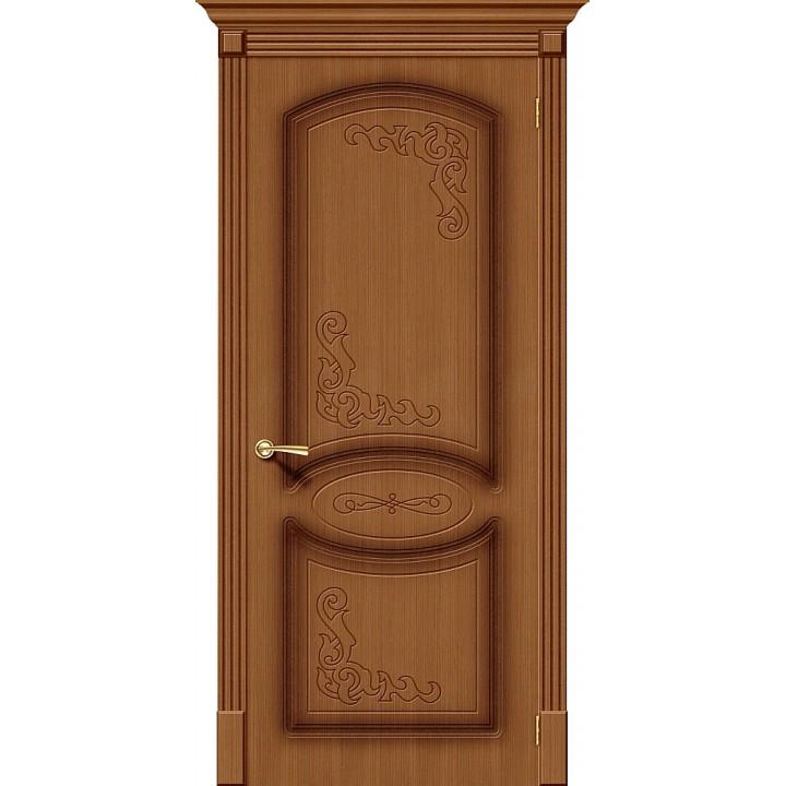 Ковровские межкомнатные двери  - Азалия Ф-11 (Орех) на Преображенской 120