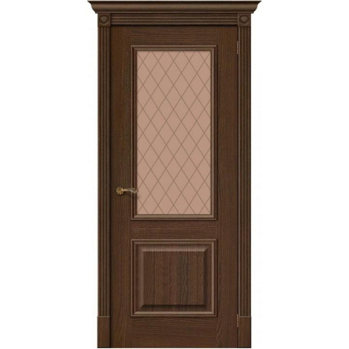 Межкомнатная шпонированная дверь Вуд Классик-13 Golden Oak в Белгороде