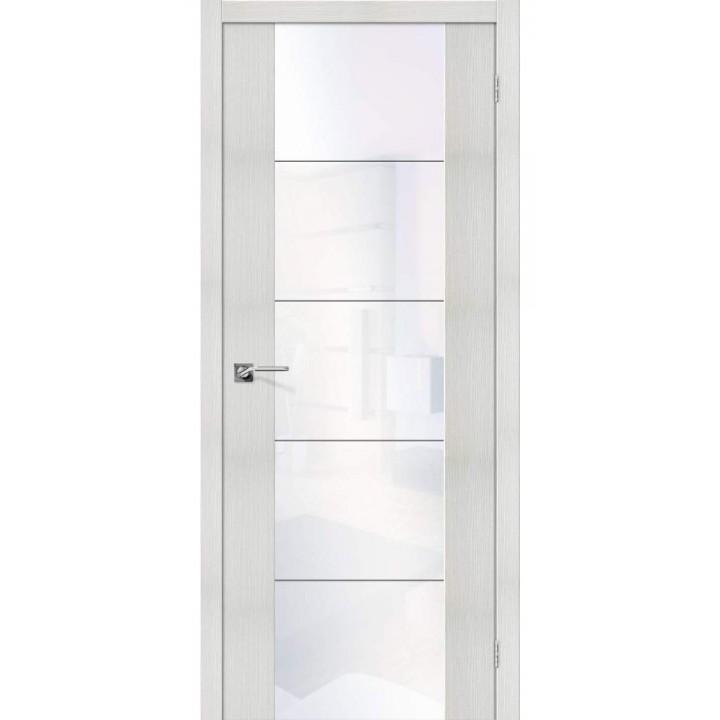Межкомнатная дверь экошпон   V4 WW Bianco Veralinga в Белгороде