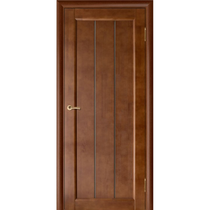 Межкомнатная дверь из массива  Вега-19 Т-31 (Темный Орех)
