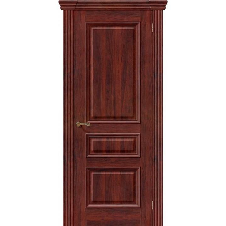 Межкомнатная шпонированная дверь Вена Т-35 (Красное Дерево) в Белгороде