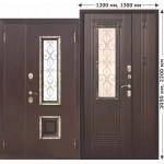 Входные двери с нестандартными размерами в Белгороде